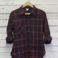 Sophia Plaid Shirt