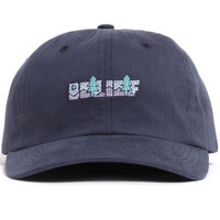 Great Escape Unstructured Strapback Hat Navy