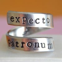 Harry Potter Expecto Patronum Wrap Ring