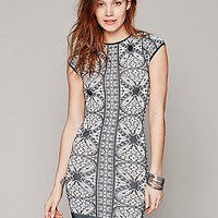 Intimately Womens Printed Cap Sleeve Bodycon