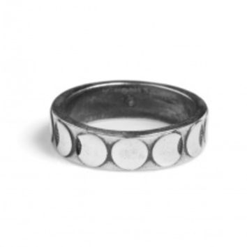 Moon Phases Stacking Ring   NOT JUST A LABEL