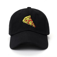 Pizza lovers baseball dad hat