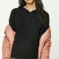 Boxy Hooded Sweater