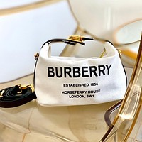 BURBERRY printed logo letter lunch box bag bucket bag shoulder messenger bag