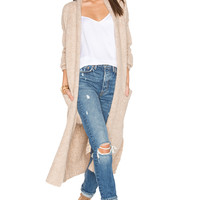 360 Sweater Margaux Cardigan in Farro | REVOLVE