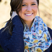 Give A Hoot Owl Scarf