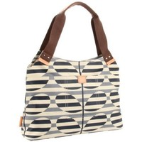 Orla Kiely Laminated Stripy Stem Print Classic Shoulder Bag - designer shoes, handbags, jewelry, watches, and fashion accessories   endless.com