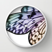 Butterfly Dreams Wall Clock by Intrinsic Journeys