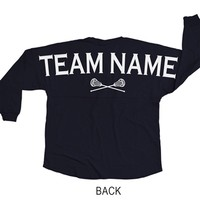 Lacrosse Game Day Jersey Team Name | LuLaLax.com