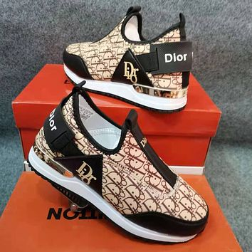 Dior Women's Canvas Sneakers Shoes