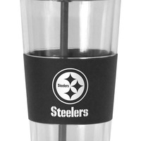Pittsburgh Steelers No Spill Straw Tumbler