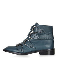 LIMITED EDITION PAIGE Boots - Blue