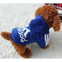 Almotaapet Pet Clothes for Dog Cat Puppy Hoodies Coat Winter Sweatshirt Warm Sweater XS-2XL