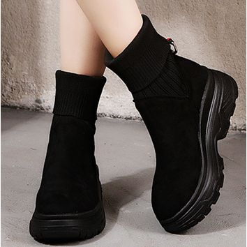 The new style is a hit with all - in - height boots shoes