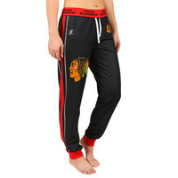 Chicago Blackhawks Official NHL Women's Jogger Pants