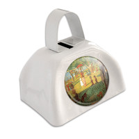 A Sunday Afternoon on Island of La Grande Seurat White Cowbell Cow Bell