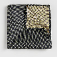 Gold Lurex Pocket Square - Ties & Pocket Squares - Shoes and Accessories