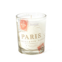 FOREVER 21 Scented Paris Candle Cream/Red One