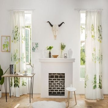 Drapes with Dandelion