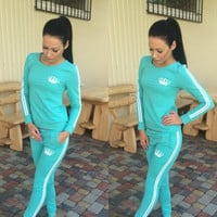 New Autumn 2015 Jogging Suits For Women 2015 tracksuits women sport suits set ladies brand running sets sportwear