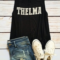 Thelma Graphic Tank Top