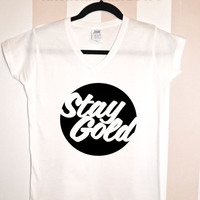 Stay Gold The Outsiders V-Neck Shirt  Hipster  #28