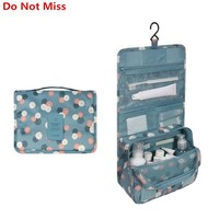 Do Not Miss New Travel Items Wash Products Storage Organizer Bag Portable Waterproof Women and Men Bathroom Hanging Bags