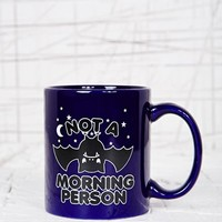Not A Morning Person Mug at Urban Outfitters