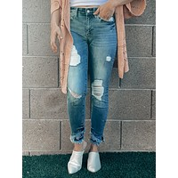 Presley Mid Rise Ankle Skinny Jeans