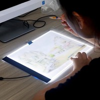 Ultrathin 3.5mm A4 LED Light Tablet Pad Apply to USB Plug Diamond Painting tool