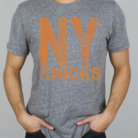 NBA New York Knicks Time Out Triblend  -  - Junk Food Clothing