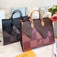 LV Louis Vuitton High Quality Women Shopping Handbag Tote Shoulder Bag Crossbody Satchel