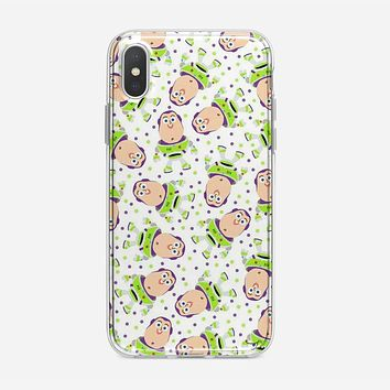 Buzz Toy Story Pattern iPhone XS Case