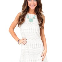 Good Girl Ivory Lace Dress | Monday Dress Boutique