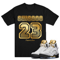23 Tee-Jordan Gold Coin Olympic 5's