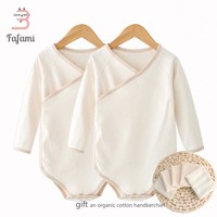 2 pcs/lot Organic Tiny Cottons Baby Rompers Costume Lucky Child Baby Clothes for Newborn Baby boy girl clothing romper jumpsuit