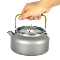 Multifunctional Outdoor Cookware Set Camping Cooking Pot Teapot kettle Use for Home Cooking
