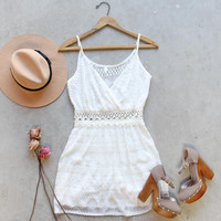 Dusted Lace Dress