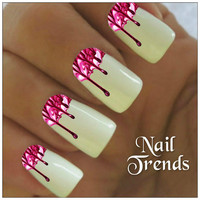 Drips Nail Decal 20 Vinyl Stickers Nail Art