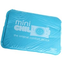 """Mini Chillow Original Personal Portable Cooling Mat and Cool Relief Pad, 21"""" by 14"""" by 0.5"""", Blue"""