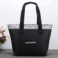Lacoste Women Fashion Handbag Tote Shoulder Bag Satchel