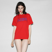 1990s I have Taltent Vintage Funny Phrase Red T-shirt