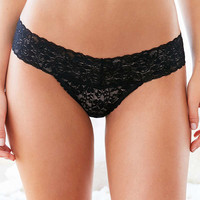 Out From Under Zoe Lace-Trimmed Thong | Urban Outfitters
