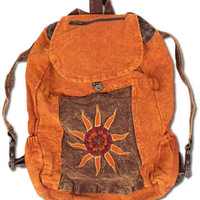 NEW! Stonewashed Warm Backpack: Soul-Flower Online Store