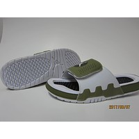 Nike Jordan Hydro IX White/Green Sandals Slipper Shoes Size US 7-13