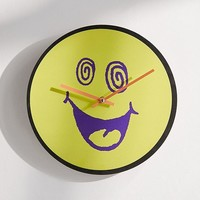 """Wacky Face 12"""" Wall Clock 
