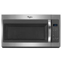 Whirlpool 1.7 cu. ft. Over the Range Microwave in Stainless Steel WMH31017FS at The Home Depot - Mobile