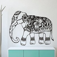 Wall Decals India Elephant Decal Vinyl Sticker Home Art Bedroom Home Decor Ms313