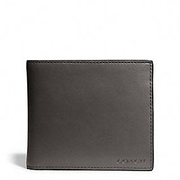 BLEECKER LEGACY COMPACT ID WALLET IN LEATHER