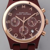 Marc by Marc Jacobs Large Henry Aluminum Watch